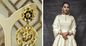 Swara Bhaskar donned royal tones by Narayan Jewels