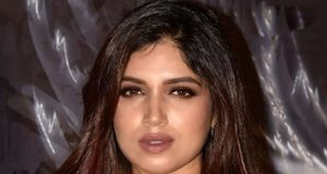 Bhumi Pednekar with a dual-layered string of solitaire diamonds