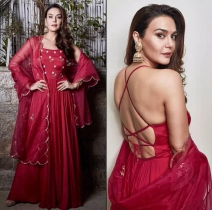 Preity Zinta's sexy Diwali look