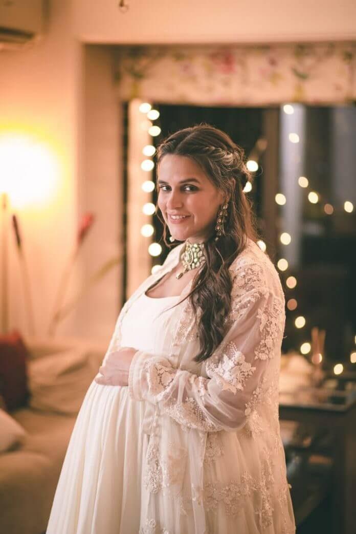 Neha Dhupia spotted in Uncut Diamonds Jewels