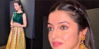 Divya Khosla Kumar Goes Traditional for a Recent Awards Show