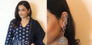 Vidya Balan Personifies Grace in Stunning Jhumkis at an Event