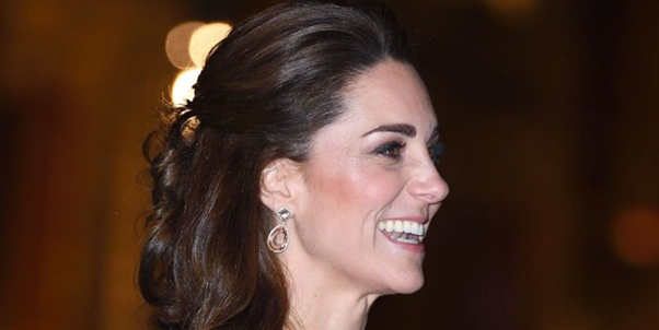 Kate Middleton with Gucci Earrings