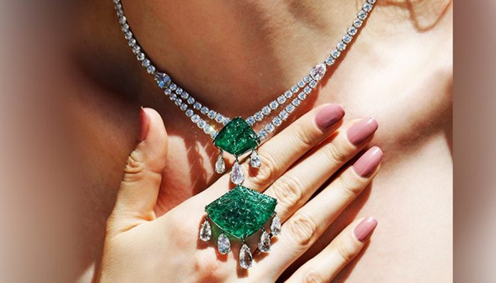 Feature The hottest diamond neck pieces to get you through summer festivities