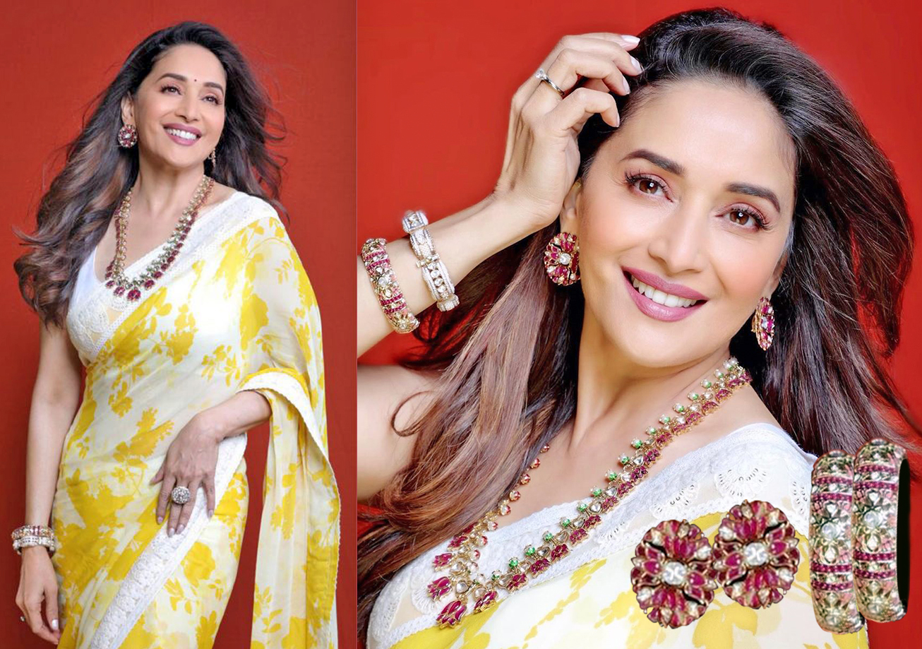 Madhuri Dixit-Nene embraces ethnicity during Dance Deewane 2