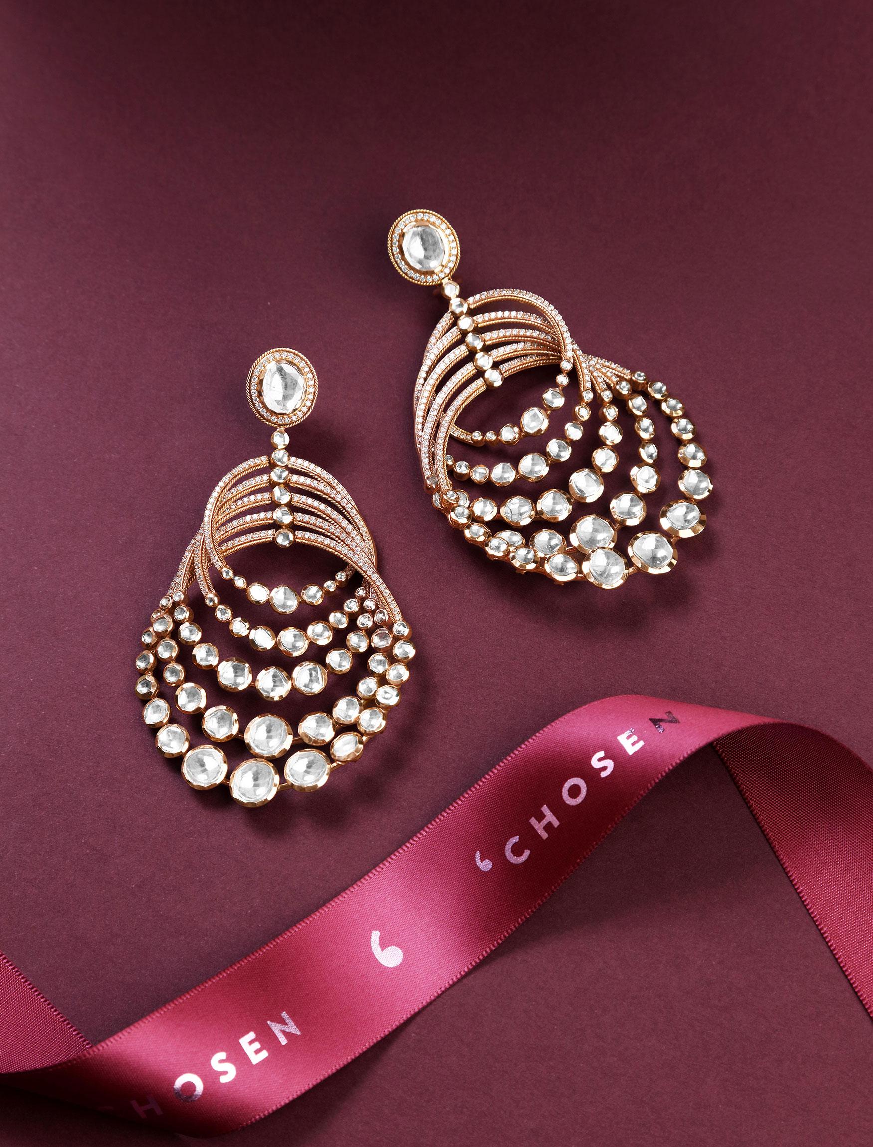 earrings-Ranka Jewellers
