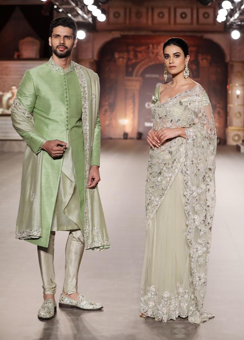 Collection-by-Designer-Shyamal-Bhumika-@-FDCI-India-Couture-Week-2019
