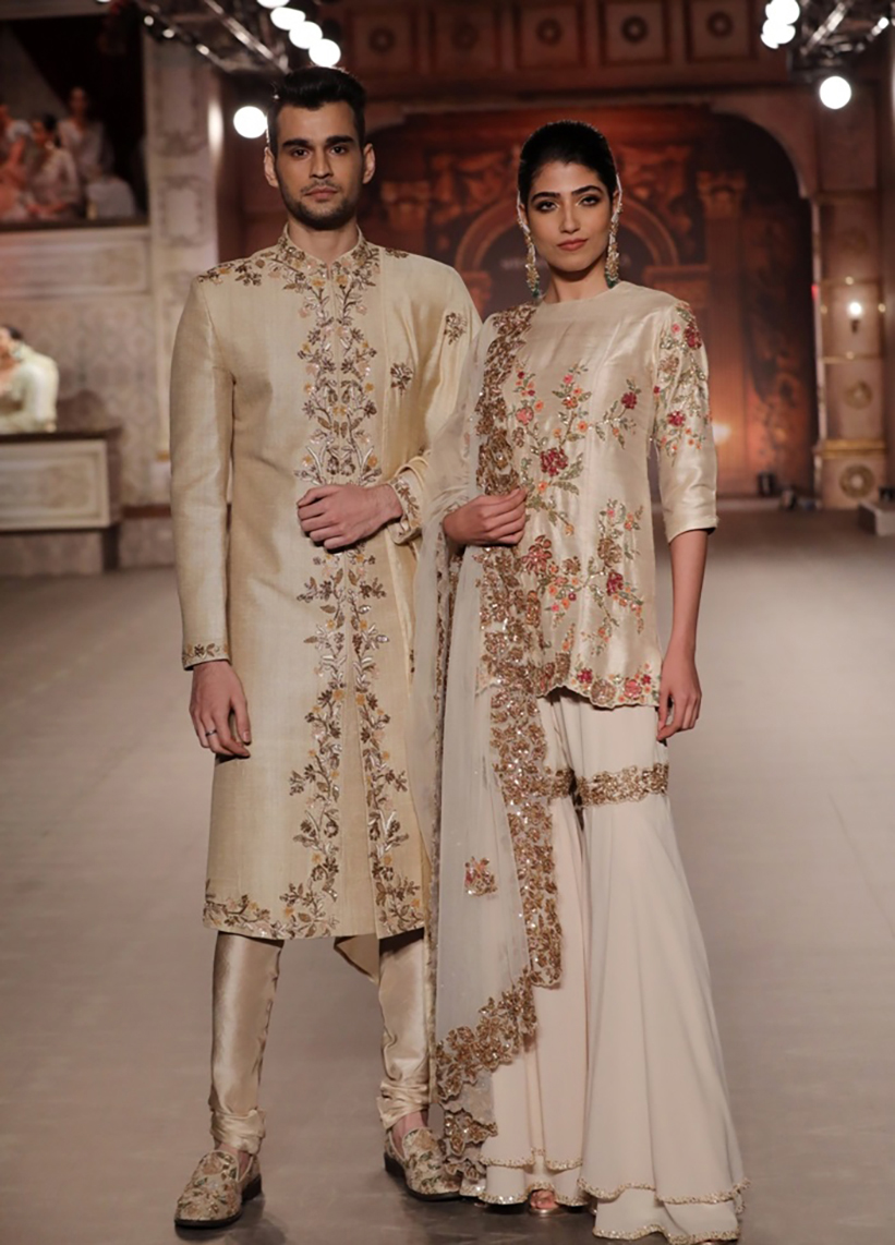 Collection-by-Designer-Shyamal-Bhumika-@-FDCI-India-Couture-Week