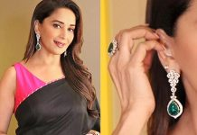 Madhuri-Dixit-Nene-goes-the-emerald-way