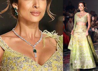 Malaika Arora dazzled in diamonds & emeralds
