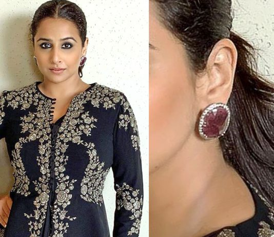 Vidya Balan in a House of Aynat creation