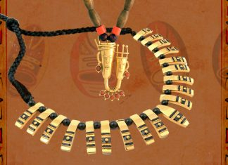 Tribal Jewellery Gilded in Gold