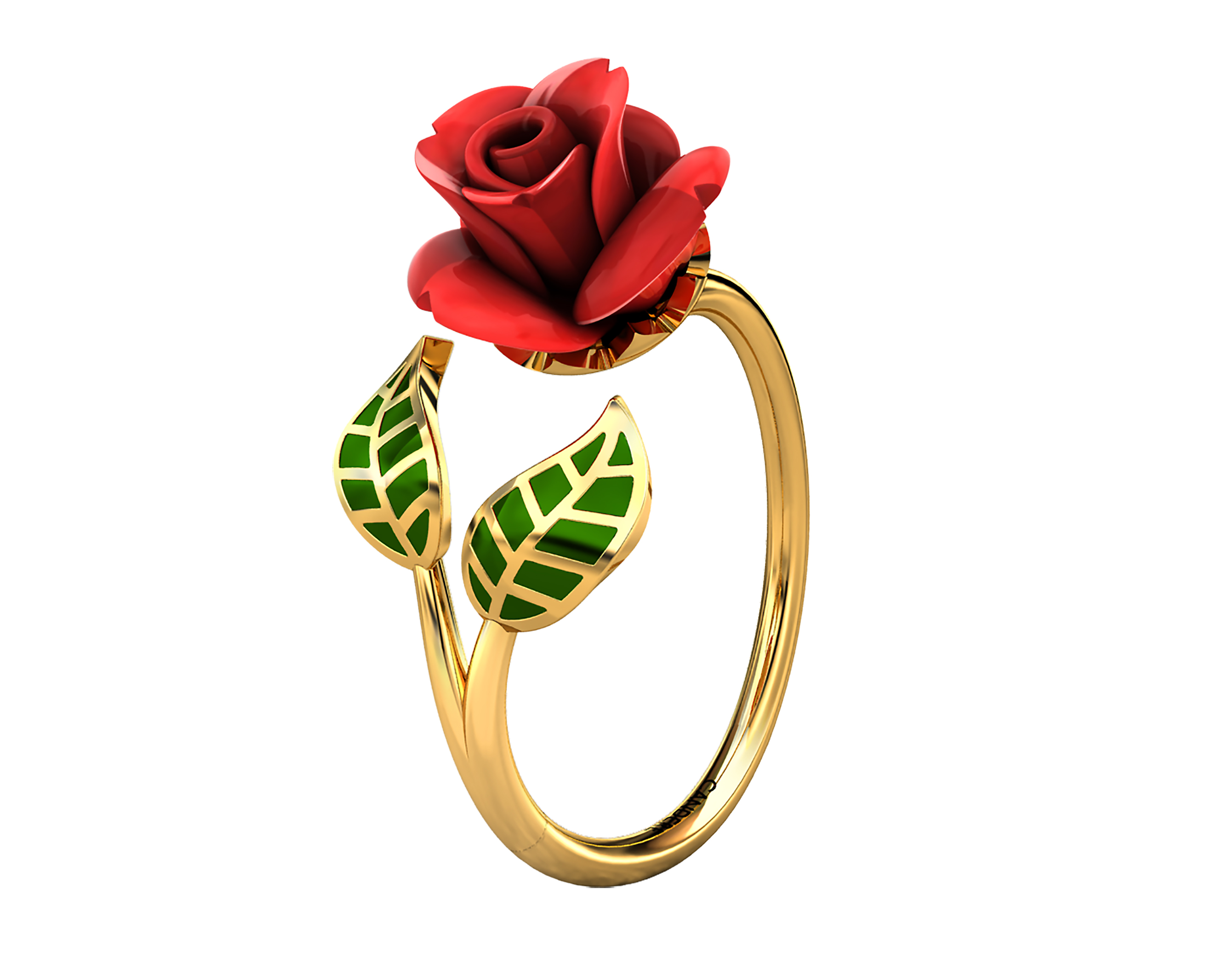 Candere-ring-Raindrop-Roses