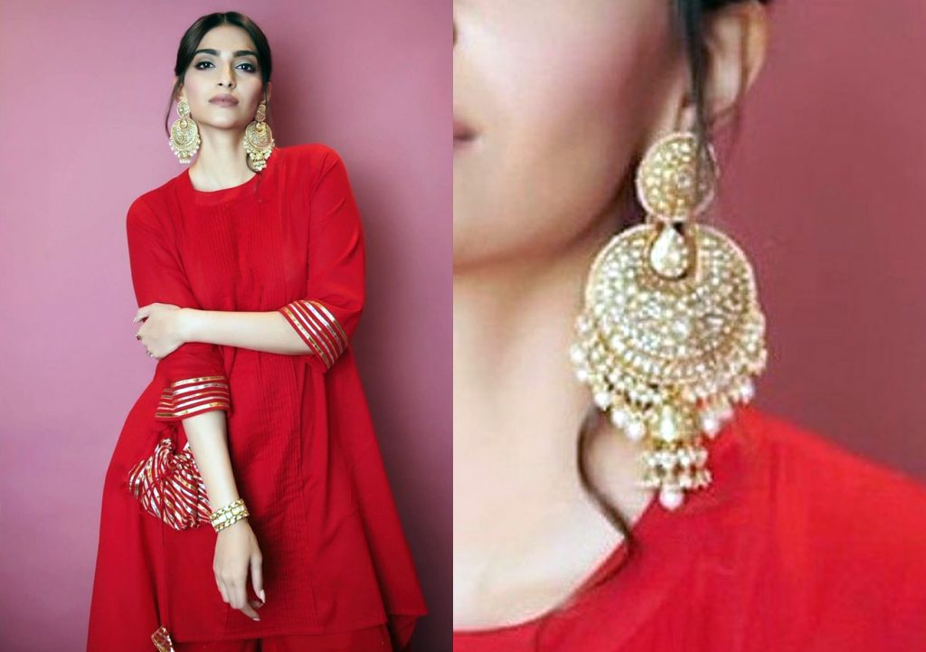 Sonam Kapoor in Satyani Fine Jewels