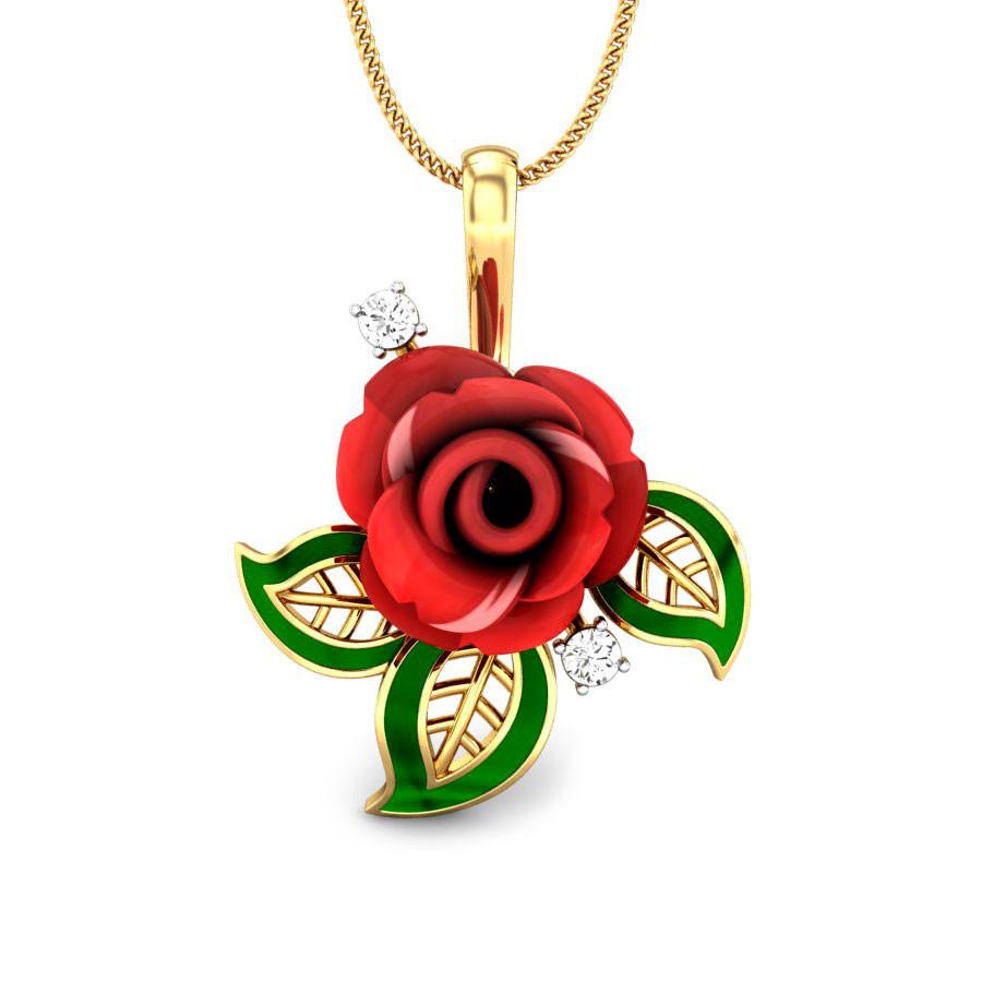 Candere- Della Rose Gemstone Pendant