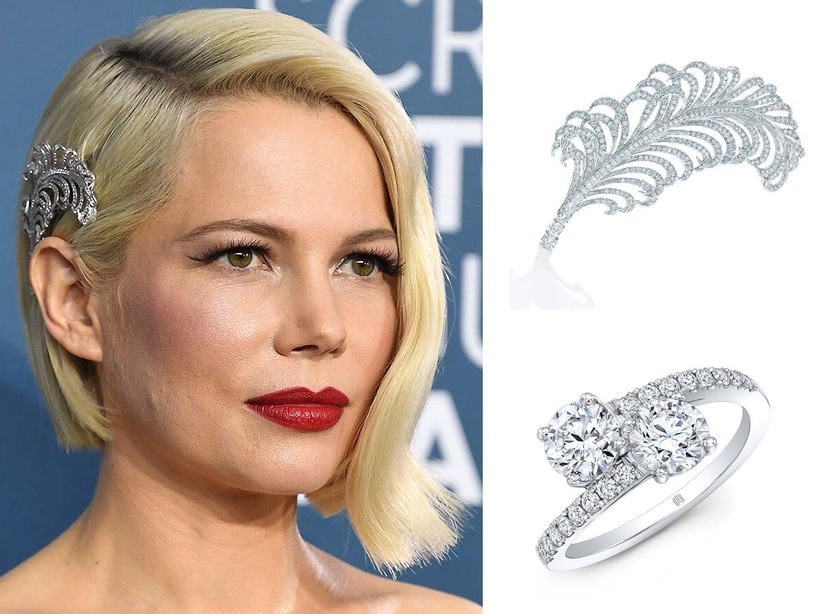 Michelle Williams at Screen Actors Guild Awards