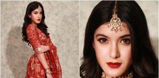 Shanaya Kapoor was spotted wearing Golecha Jewels