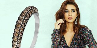 Kriti Sanon in glitterring diamond rings