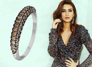 Kriti Sanon in glitterring diamond rings