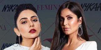 Bollywood really impress us with diamond earrings and diamond necklaces at Nykka