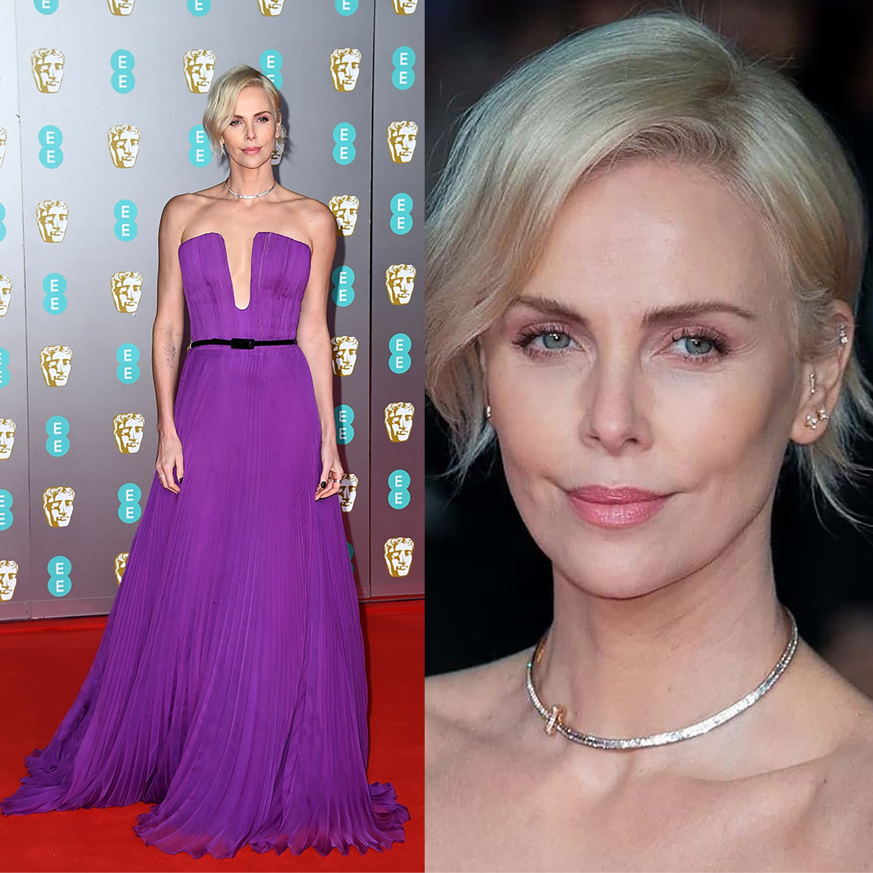 CHARLIZE THERON at BAFTA 2020