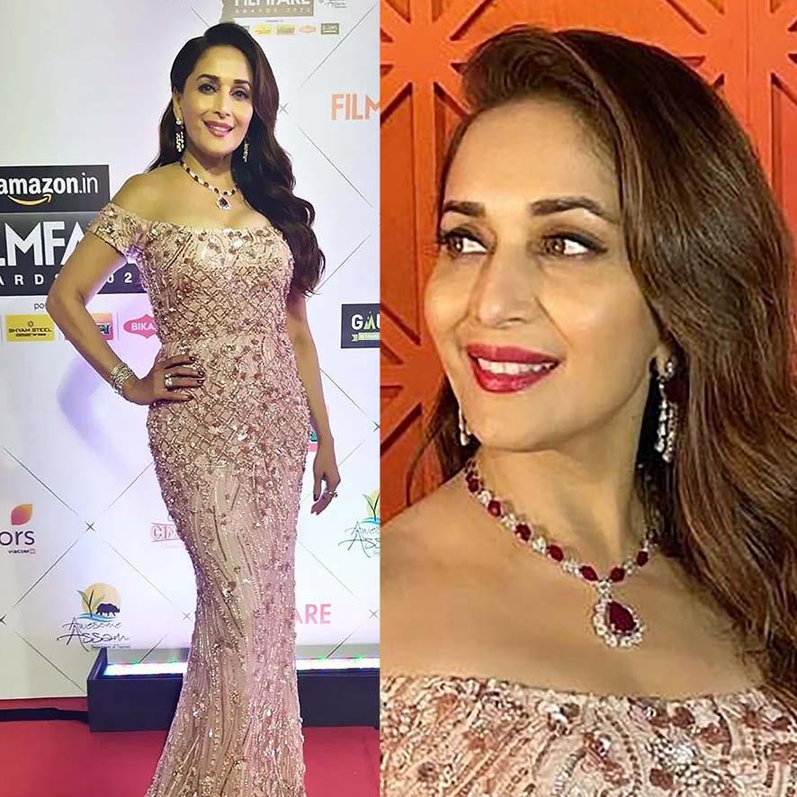 Madhuri Dixit at Filmfare Awards 2020