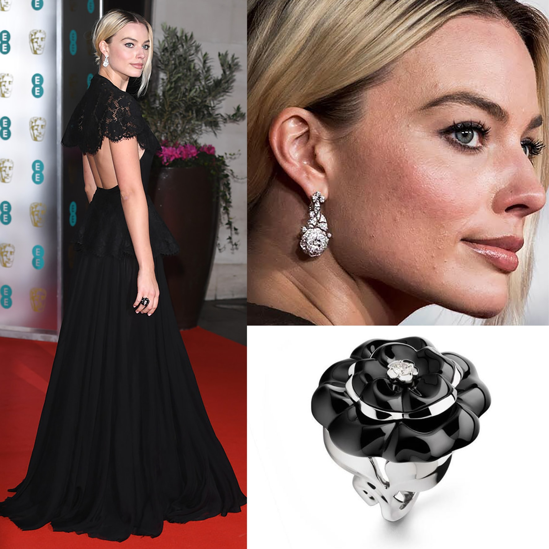 MARGOT ROBBIE at BAFTA 2020